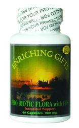 Pro Biotic With Fos Intestinal Flora Support Probiotic
